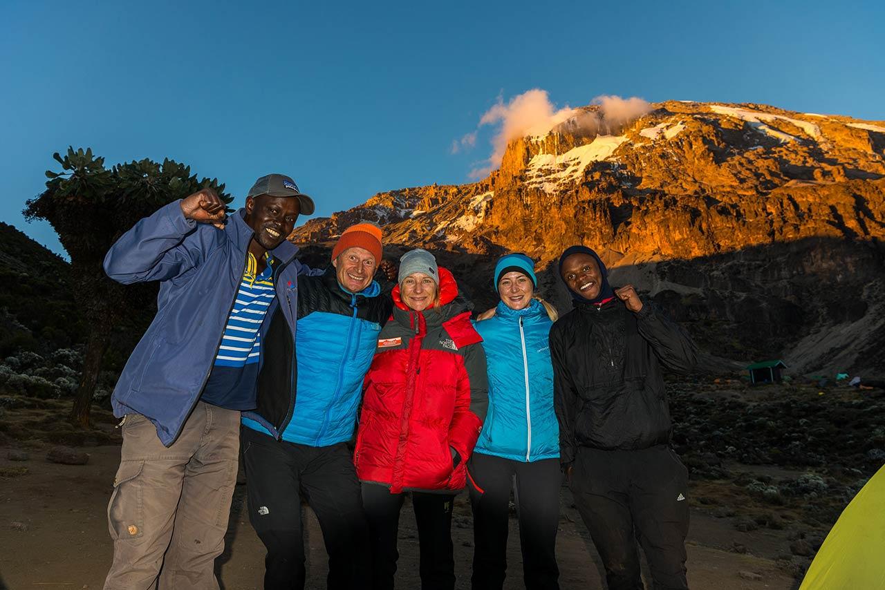 Heli Putz - Africa - Kilimandscharo - Family-Trip