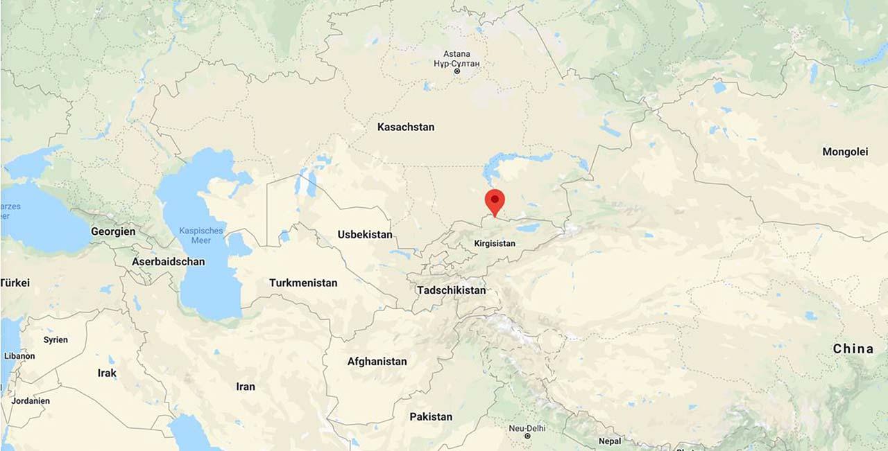 Heli Putz - Kirgistan